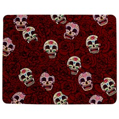 Funny Skull Rosebed Jigsaw Puzzle Photo Stand (Rectangular)
