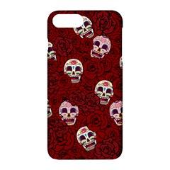 Funny Skull Rosebed Apple iPhone 7 Plus Hardshell Case