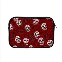 Funny Skull Rosebed Apple Macbook Pro 15  Zipper Case