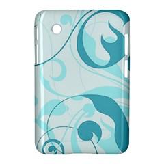Floral pattern Samsung Galaxy Tab 2 (7 ) P3100 Hardshell Case
