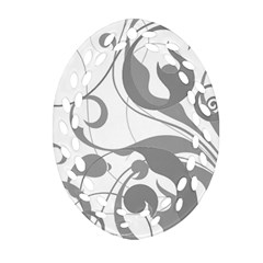 Floral pattern Ornament (Oval Filigree)
