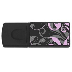Floral pattern USB Flash Drive Rectangular (1 GB)