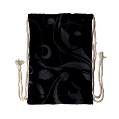 Floral pattern Drawstring Bag (Small)