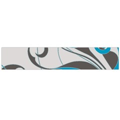 Floral pattern Flano Scarf (Large)