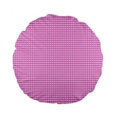 Color Standard 15  Premium Flano Round Cushions