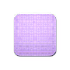 Color Rubber Square Coaster (4 pack)