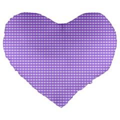 Color Large 19  Premium Heart Shape Cushions