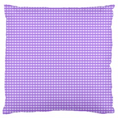 Color Large Flano Cushion Case (One Side)