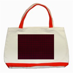 Color Classic Tote Bag (Red)