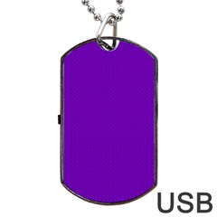 Color Dog Tag USB Flash (Two Sides)