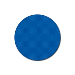 Color Rubber Round Coaster (4 pack)