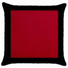 Color Throw Pillow Case (Black)