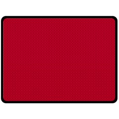 Color Double Sided Fleece Blanket (Large)
