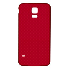 Color Samsung Galaxy S5 Back Case (White)