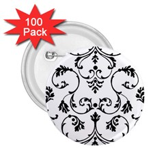 Ornament  2.25  Buttons (100 pack)