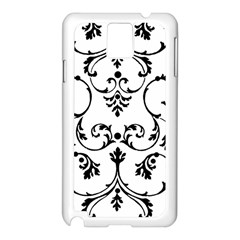 Ornament  Samsung Galaxy Note 3 N9005 Case (White)