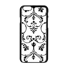 Ornament  Apple iPhone 6/6S Black Enamel Case