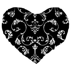 Ornament  Large 19  Premium Heart Shape Cushions