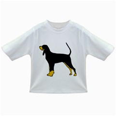 Black And Tan Coonhound Silo Color Infant/Toddler T-Shirts