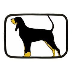 Black And Tan Coonhound Silo Color Netbook Case (Medium)