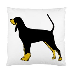 Black And Tan Coonhound Silo Color Standard Cushion Case (Two Sides)