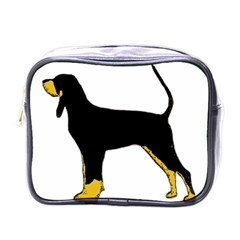 Black And Tan Coonhound Silo Color Mini Toiletries Bags