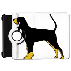 Black And Tan Coonhound Silo Color Kindle Fire HD 7