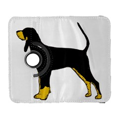 Black And Tan Coonhound Silo Color Galaxy S3 (Flip/Folio)