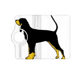 Black And Tan Coonhound Silo Color Kindle Fire HD (2013) Flip 360 Case