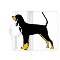 Black And Tan Coonhound Silo Color Kindle Fire HDX 8.9  Flip 360 Case