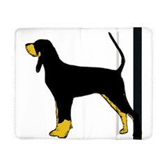 Black And Tan Coonhound Silo Color Samsung Galaxy Tab Pro 8.4  Flip Case