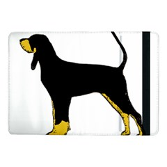 Black And Tan Coonhound Silo Color Samsung Galaxy Tab Pro 10.1  Flip Case