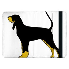 Black And Tan Coonhound Silo Color Samsung Galaxy Tab Pro 12.2  Flip Case