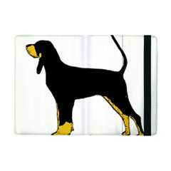 Black And Tan Coonhound Silo Color iPad Mini 2 Flip Cases