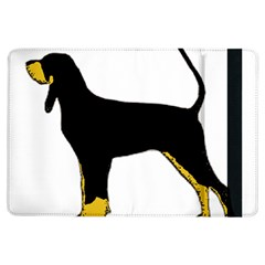 Black And Tan Coonhound Silo Color iPad Air Flip