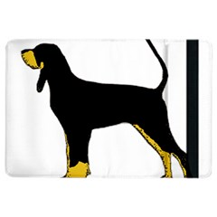 Black And Tan Coonhound Silo Color iPad Air 2 Flip