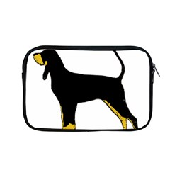 Black And Tan Coonhound Silo Color Apple MacBook Pro 13  Zipper Case