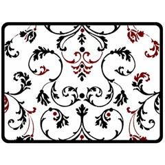 Ornament  Double Sided Fleece Blanket (Large)