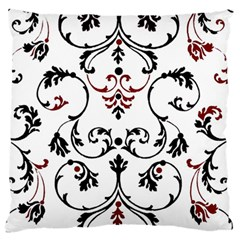 Ornament  Large Flano Cushion Case (One Side)