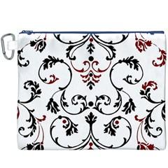Ornament  Canvas Cosmetic Bag (XXXL)