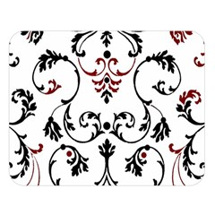 Ornament  Double Sided Flano Blanket (Large)