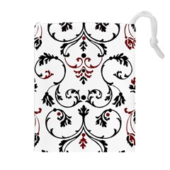 Ornament  Drawstring Pouches (Extra Large)