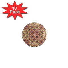 Vintage Ornate Baroque 1  Mini Magnet (10 pack)
