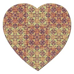 Vintage Ornate Baroque Jigsaw Puzzle (Heart)