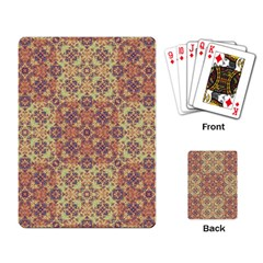 Vintage Ornate Baroque Playing Card