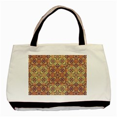 Vintage Ornate Baroque Basic Tote Bag