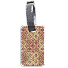 Vintage Ornate Baroque Luggage Tags (One Side)
