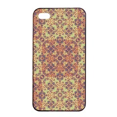 Vintage Ornate Baroque Apple iPhone 4/4s Seamless Case (Black)