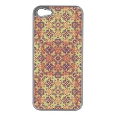 Vintage Ornate Baroque Apple iPhone 5 Case (Silver)