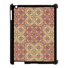 Vintage Ornate Baroque Apple iPad 3/4 Case (Black)